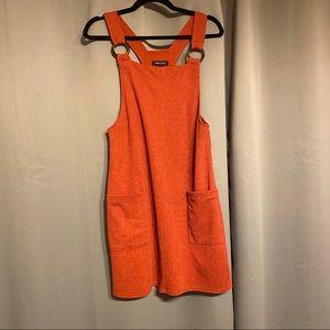 New Look Overall Mini Dress GUC